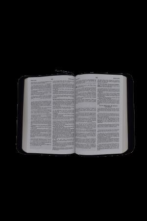 Biblie - editie bilingva romana-germana - neagra, PF - cu concordanta2
