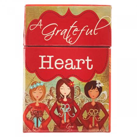 Set carduri cu verset (limba engleza) - Grateful Heart0