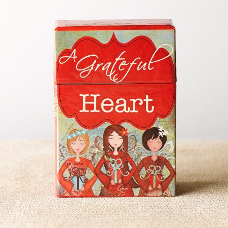 Set carduri cu verset (limba engleza) - Grateful Heart6