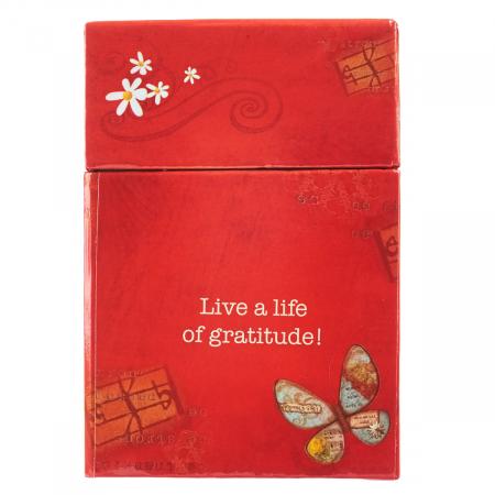 Set carduri cu verset (limba engleza) - Grateful Heart1