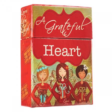 Set carduri cu verset (limba engleza) - Grateful Heart2