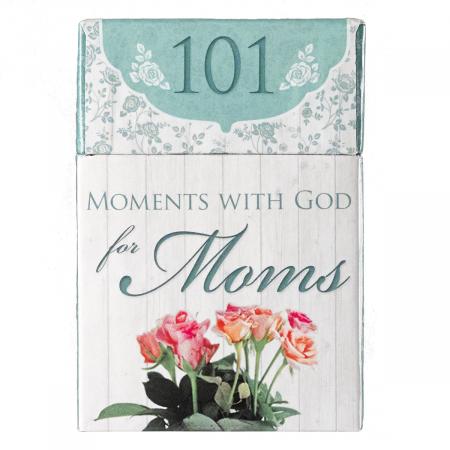 Set carduri cu verset (limba engleza) - 101 Moments with God for Moms [0]