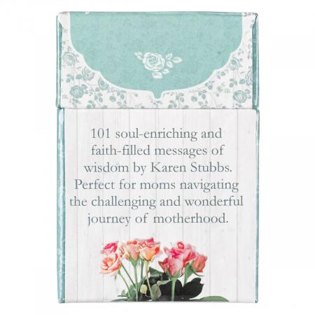 Set carduri cu verset (limba engleza) - 101 Moments with God for Moms [1]