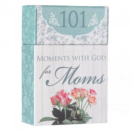Set carduri cu verset (limba engleza) - 101 Moments with God for Moms2