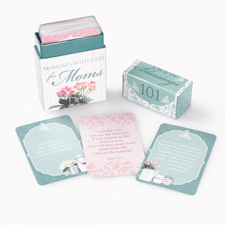 Set carduri cu verset (limba engleza) - 101 Moments with God for Moms4
