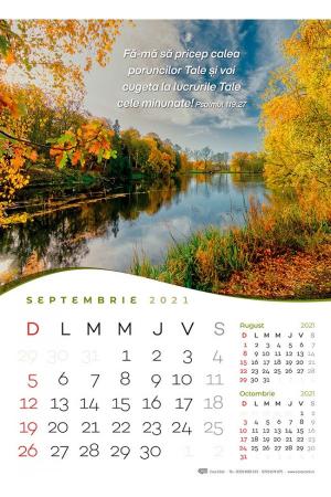 Calendar de perete 2021 - format mare A33