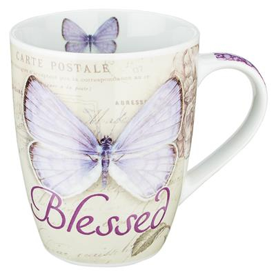 Cana - Butterfly Blessed in purple - Jeremiah 17:7