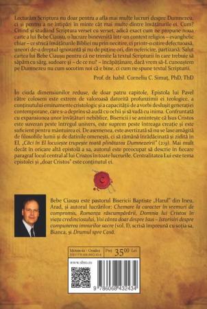 Centralitatea lui Cristos. Prezentarea expozitiva a Epistolei lui Pavel catre coloseni. Vol. 11
