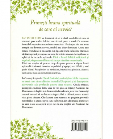 Cercetati Scripturile - Cum sa gasesti hrana de care are nevoie sufletul tau (editie cartonata)1