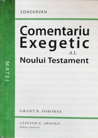 Comentariu exegetic al Noului Testament. Matei0
