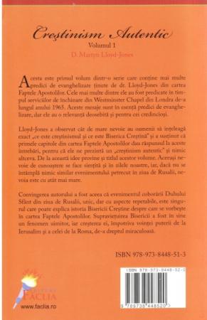 Crestinism autentic. Vol. 1. Faptele Apostolilor 1-3