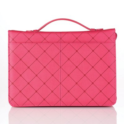 Cross - Pink - Large - LuxLeather [1]