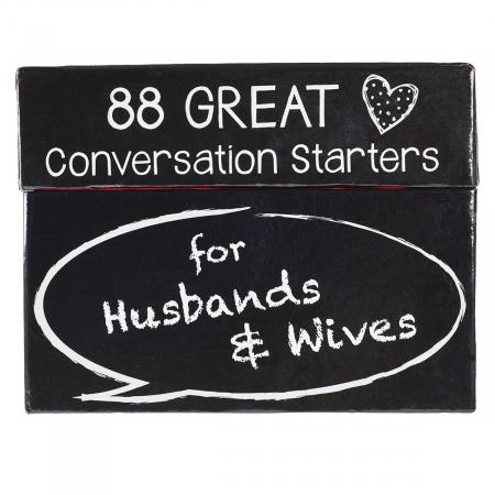 88 conversation starters Husbands Wives [0]