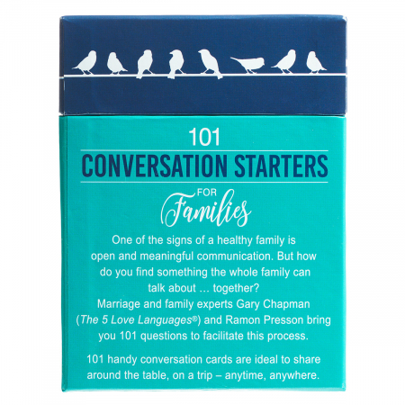 101 conversation starters for families [1]