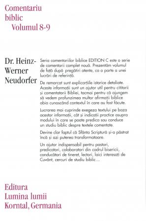 Faptele Apostolilor, comentariu biblic, vol. 8/91