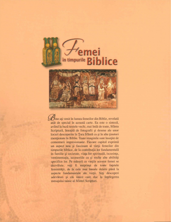 Femei din timpurile biblice1
