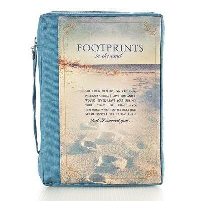 Footprints - Blue - Polycanvas [1]