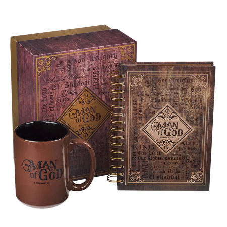 Man of God - Journal & Mug [0]