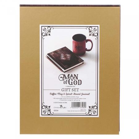 Man of God - Journal & Mug [1]