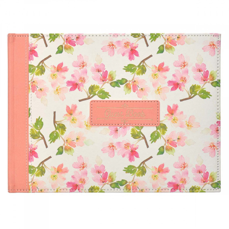 Floral Medium Pink Faux Leather [0]