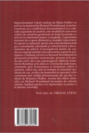 In sfera tacerii. Richard Wurmbrand in dosarele Securitatii1