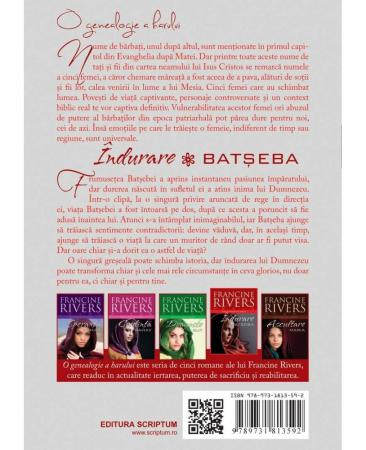 """Indurare – Batseba. Seria """"O genealogie a harului""""1"""