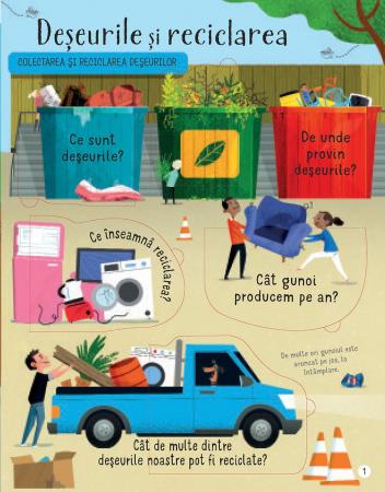 Intrebari si raspunsuri despre reciclare si deseuri (Usborne) [2]