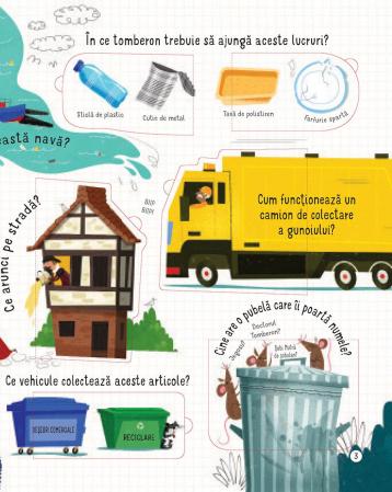 Intrebari si raspunsuri despre reciclare si deseuri (Usborne) [4]