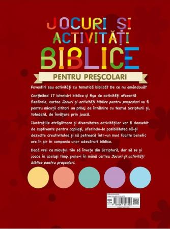 Jocuri si activitati biblice - pentru prescolari1
