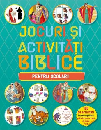 Jocuri si activitati biblice - pentru scolari0