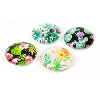 Set 4 magneti Jungle Flower