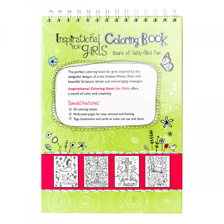 Inspirational Coloring Book for Girls [1]
