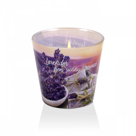 Lumanare aromatica - Lavender Soap1