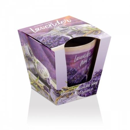 Lumanare aromatica - Lavender Soap0