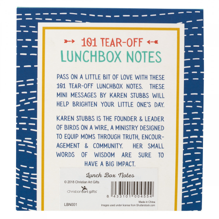 Lunchbox notes - 101 sheets [1]