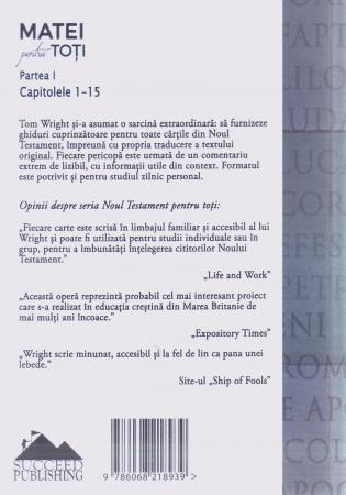 Matei pentru toti. Partea I. Capitolele 1-15 [1]