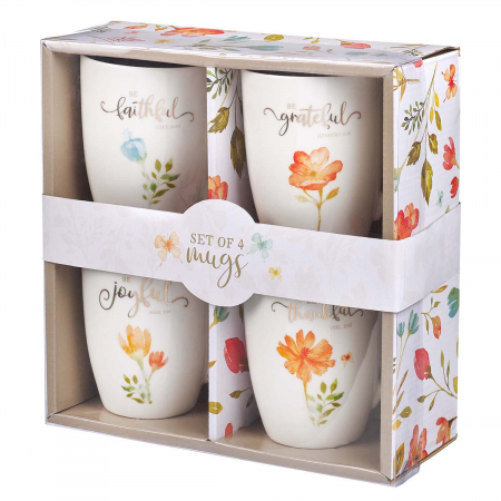 Grateful collection - set of 4 mugs [0]