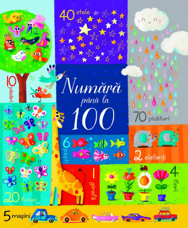 Numara pana la 100 (Usborne) [0]