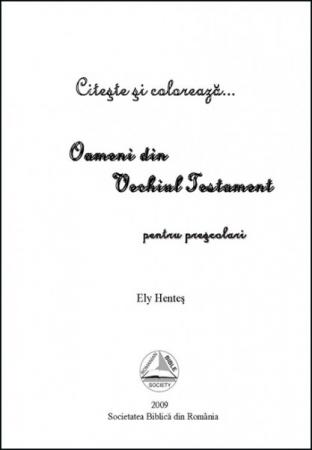 Oameni din Vechiul Testament - povestiri pentru prescolari1