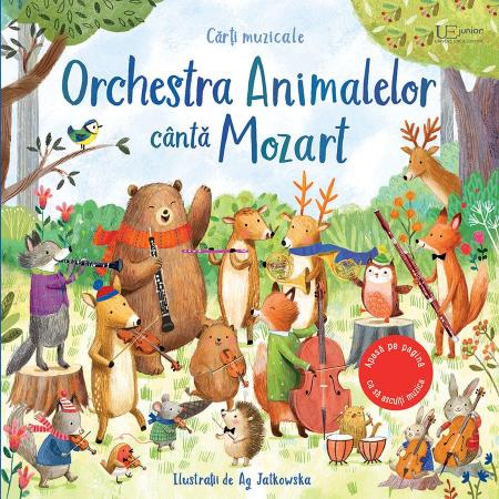 Orchestra Animalelor canta Mozart (Usborne) [0]