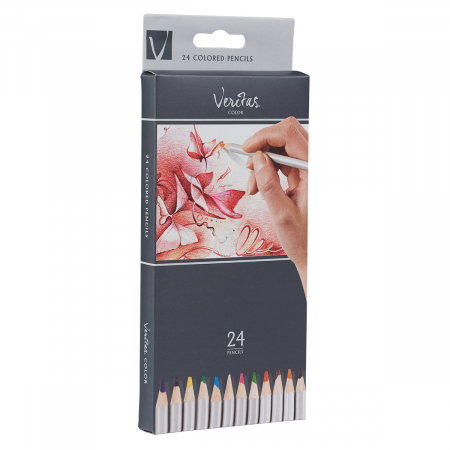 Set of 24 pencils incl. silver and gold [3]