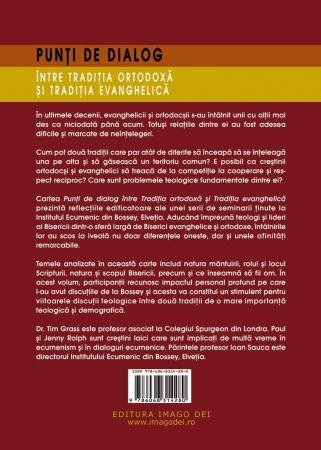 Punti de dialog intre Traditia Ortodoxa si Traditia Evanghelica1