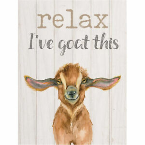 Relax I've goat this [0]