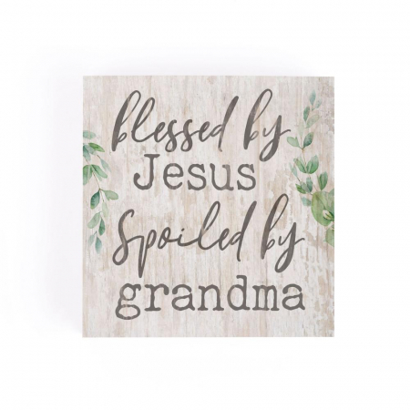 Blessed by Jesus, spoiled by grandma [2]