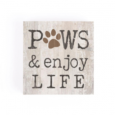 Paws and enjoy life [1]