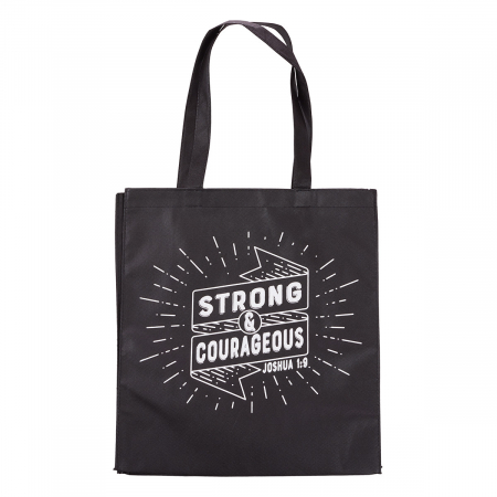 Strong and courageous - Black [1]