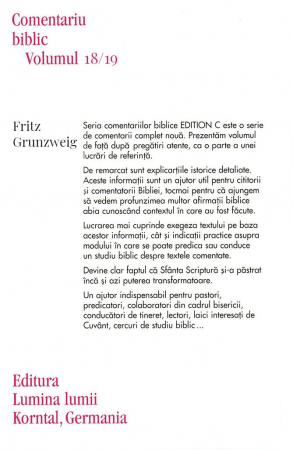 Epistolele catre Timotei & Tit & Filimon, comentariu biblic, vol. 18/191