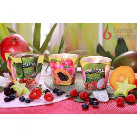 Lumanare aromatica - Tropical Berries2