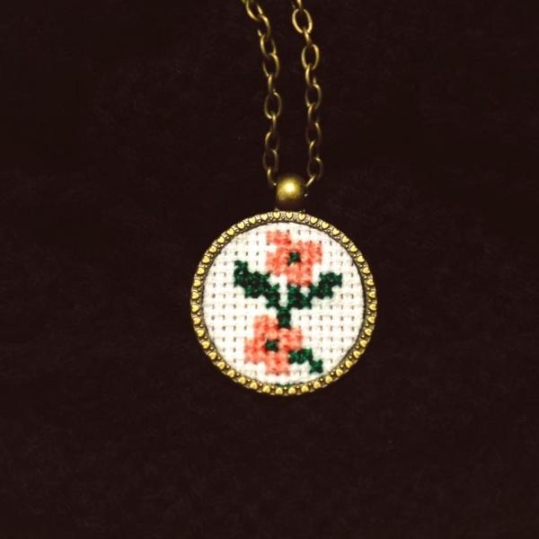 Medalion Doua Flori 0