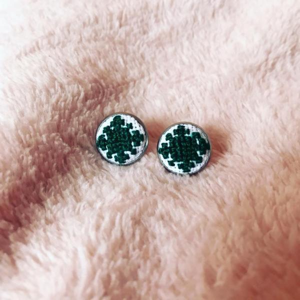 Cercei Verde Smarald 0